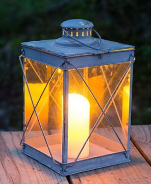 Picture of Grey Farmhouse Lantern