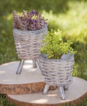 Willow Metal Plant Holder, Large