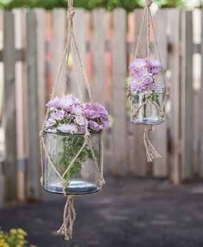 Hanging Planter Jars