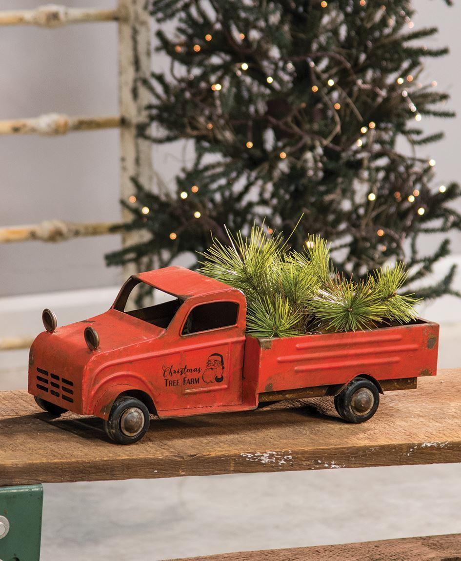 santas vintage truck