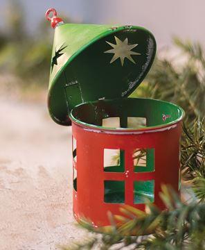 Mini Vintage Christmas Lantern