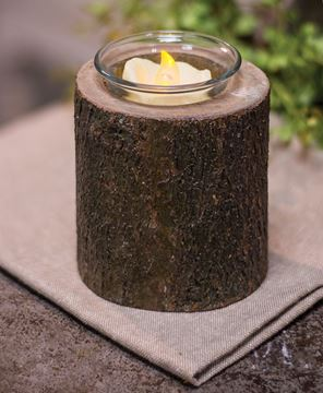 Tree Bark Tealight Holder