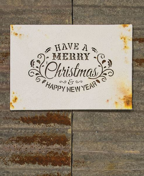 Holiday Wishes Wall Plaque