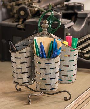 Olive Bucket Organizer