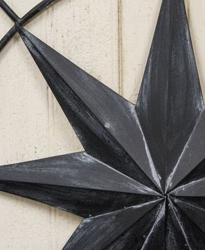 Black Compass Rose Wall Hanging