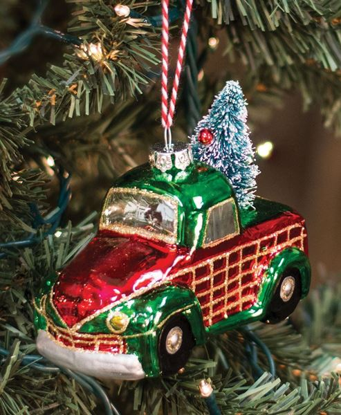 vintage truck ornament - Wholesale Vintage Christmas Decorations