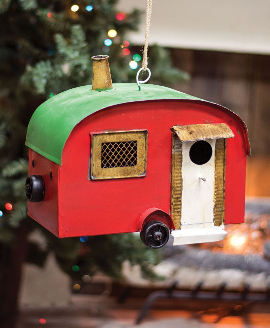 The Wholesale House >> Craft House Designs - Wholesale| Vintage Camper Birdhouse