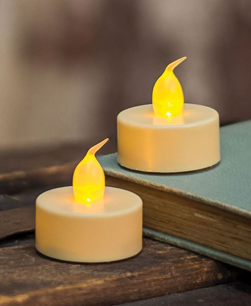 Picture of Ivory LED Tealights, 2/pk