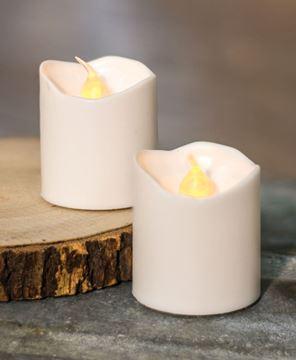 White LED Votive Candles