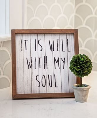 Well With My Soul Sign
