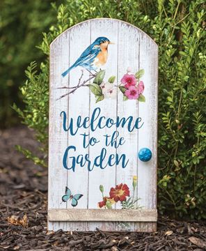 Welcome to the Garden Wall Art