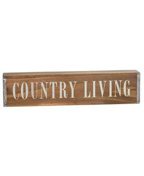 Country Living Box Sign
