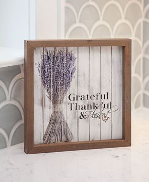 Grateful Shiplap Sign