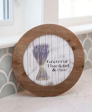 Grateful Wood Plate