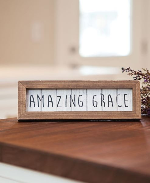 Amazing Grace Shiplap Easel