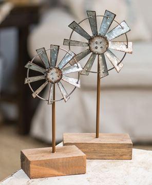 """Windmill Finial, 10"""""""