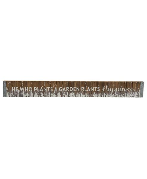 Plant Happiness Wood Slat Sign