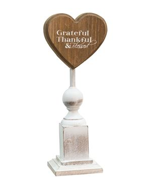 Grateful & Thankful Pedestal, 9¼""