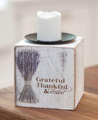 Grateful Votive Block