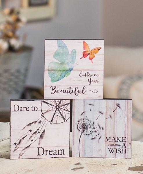 Dare to Dream Box Signs