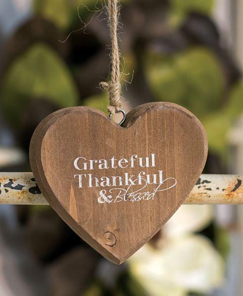 Grateful Heart Ornament