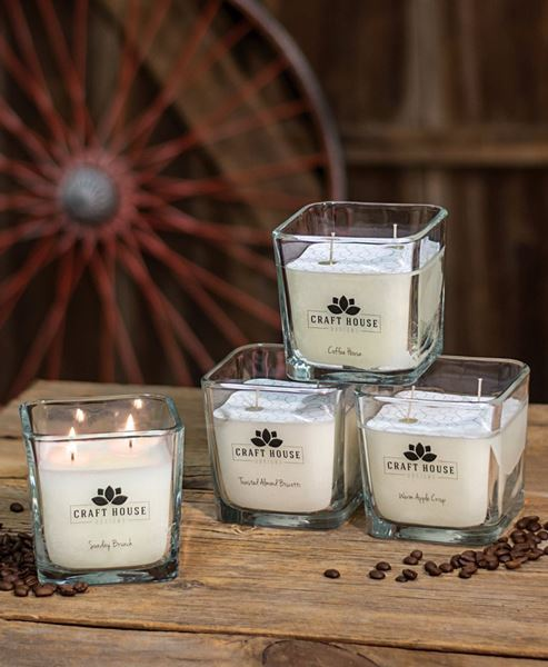 Picture of Bakery Collection Square Candles 12/set