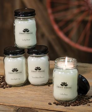 Picture of Bakery Pint Jar Candles, 12/set
