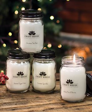 Picture of Holiday Collection Pint Candles, 12/set