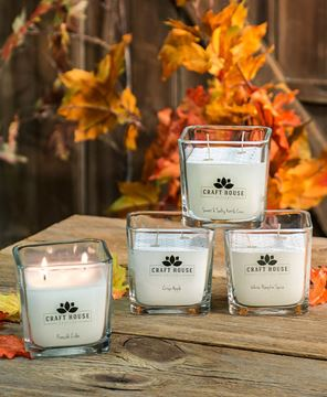 Picture of Fall Collection Square Candles, 12/set
