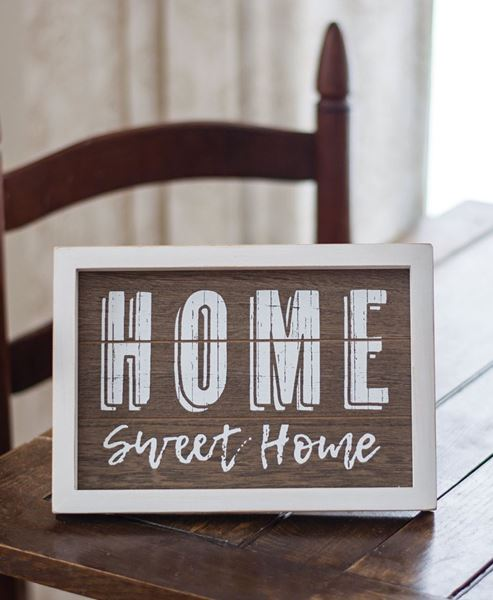 Picture of Home Sweet Home Sign