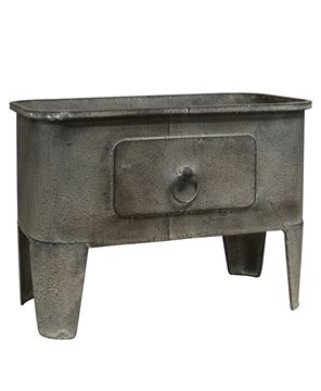 Picture of Gray Metal Basin