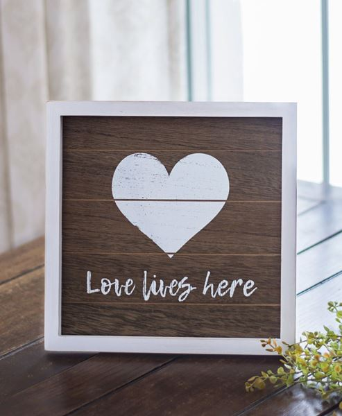 Picture of Love Framed Easel