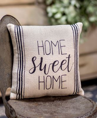 """Picture of Home Sweet Home Pillow, 10"""""""