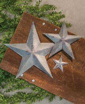 Picture of Galvanized Metal Star, 12""
