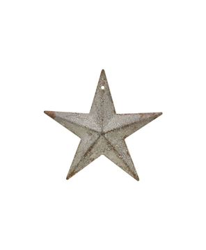 Picture of Galvanized Metal Star, 3½""