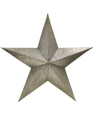 """Picture of Galvanized Metal Star, 24"""""""