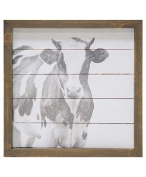 Picture of Simply Farmhouse Sign - Cow