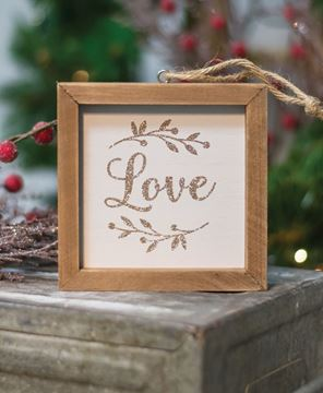 Picture of Love Frame Ornament