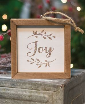Picture of Joy Frame Ornament