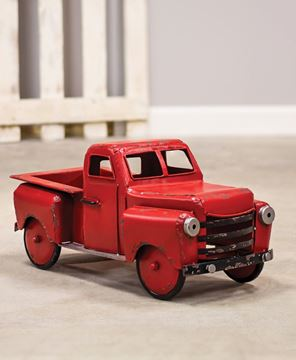 Picture of Red Farmhouse Truck