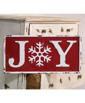 Picture of Joy Enamel Wall Sign