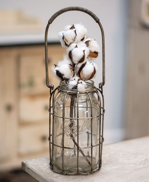 Picture of Glass Flower Jar