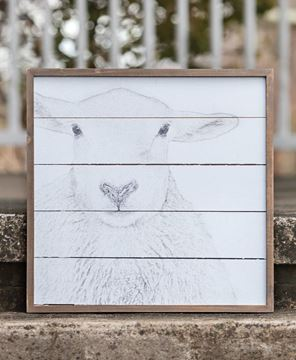 Picture of Simply Farmhouse Wall Sign - Sheep