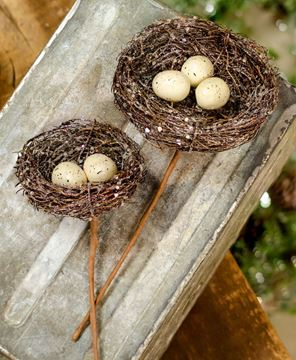 Picture of Icy Nest With Eggs Pick, Large