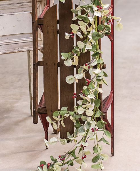 Picture of Winter Silver Dollar Garland