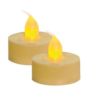 Picture of Ivory LED Tealights, 2/pk | WAS $1.65