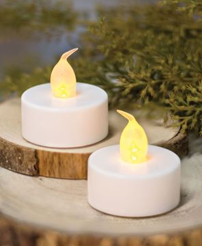 Picture of White Tealights, 2/pk | WAS $1.65
