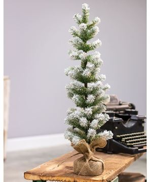 Picture of Snow Tipped Pine Tree, 24""