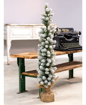 """Picture of Snow Tipped Pine Tree, 36"""""""