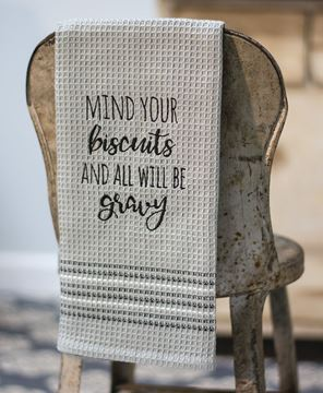 Picture of Mind Your Biscuits Dish Towel